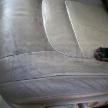 czyszczenie tapicerki skórzanej w samochodzie