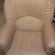 Fotel wypoczynkowy po czyszczeniu