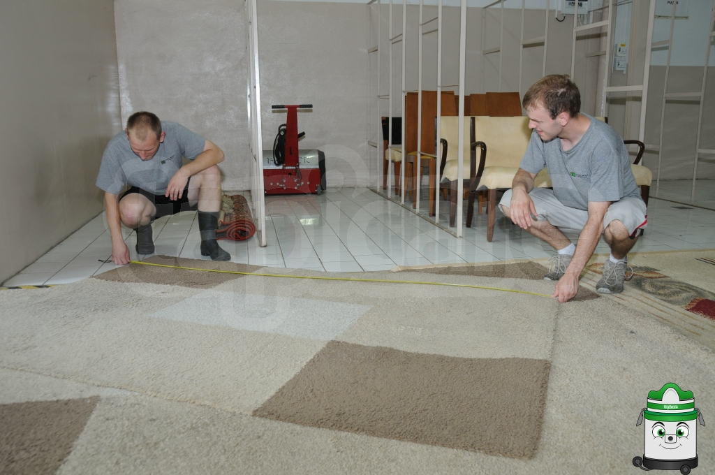Mierzenie dywanów