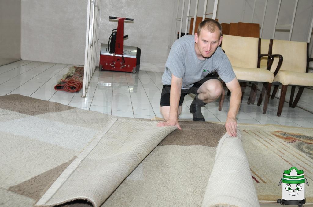 Oględziny dywanów
