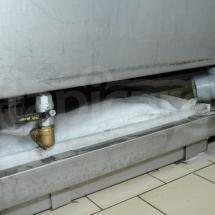 Odciągnięty nadmiar wody z dywanu