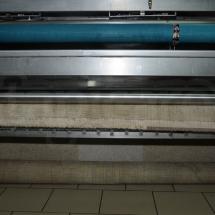 Trzepanie mechaniczne dywanu