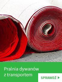 Pralnia dywanów z transportem