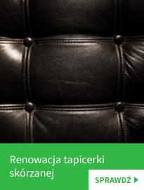 Renowacja tapicerki skórzanej